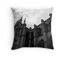 Basilica of the Assumption Throw Pillow