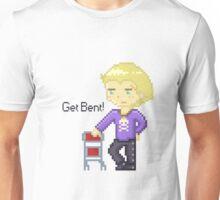 Get Bent pixel Unisex T-Shirt