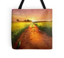 The Old Straight Track Tote Bag