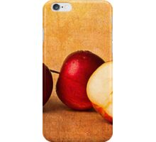 Apples In Red iPhone Case/Skin