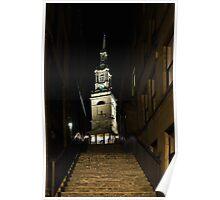 All Hallows Lane - Newcastle Poster