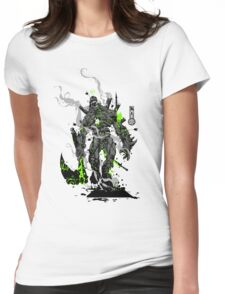 The Game of Kings, Wave Two: The Black King-Bishop's Pawn Womens Fitted T-Shirt