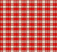 red and white tartan by almawad