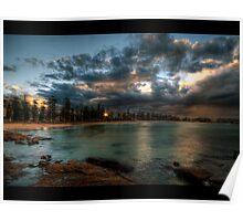 Manly Beach, Sydney. Poster
