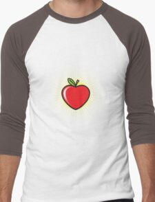Apple Heart Men's Baseball ¾ T-Shirt