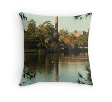 Reflection of Strength Throw Pillow