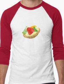 Fruit tart Men's Baseball ¾ T-Shirt