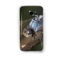 Blue Skimmer Portrait Samsung Galaxy Case/Skin