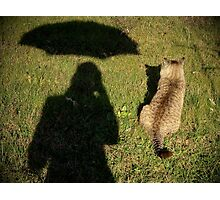 Mary Poppins et le Chat botté Photographic Print