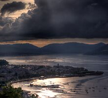Gourock and Clyde Estuary from Lyle Hill, Greenock by DonMique