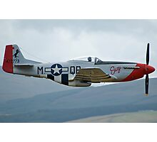 G-SUSY, P-51D Mustang, Jurby Airshow 2005 Photographic Print