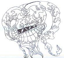 Skull Jester by shadowlens