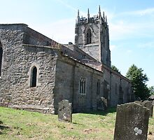 All Saint's Church, Holme on Spalding Moor, Yorkshire by Teuchter