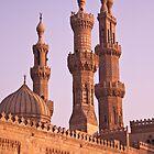 Al Azhar Mosque Cairo by Andre Roberts