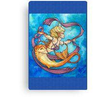 Mermaid Dancer Canvas Print