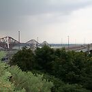 Forth Road and Rail Bridges, Scotland by Teuchter