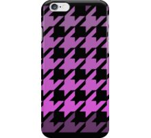 Purples houndstooth pattern iPhone Case/Skin