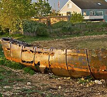 Old metal Boat by IanJohnston
