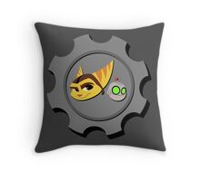 Ratchet and Clank - Gears of Frienship Throw Pillow