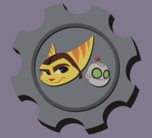 Ratchet and Clank - Gears of Frienship Kids Tee
