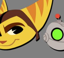 Ratchet and Clank - Gears of Frienship Sticker