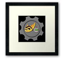Ratchet and Clank - Gears of Frienship Framed Print