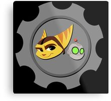 Ratchet and Clank - Gears of Frienship Metal Print