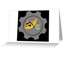 Ratchet and Clank - Gears of Frienship Greeting Card
