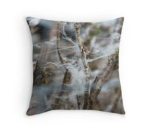 Inishowen Landscape - Wool Fence Throw Pillow