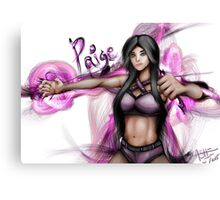 Paige: The Diva of Tomorrow Canvas Print