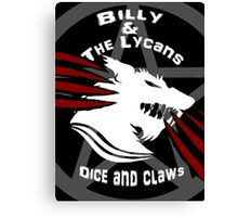 Billy and the lycans Canvas Print