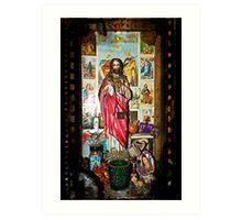 Jesus Shrine Art Print
