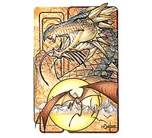 Crowned Dragon Photographic Print
