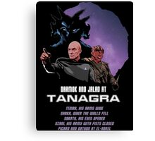 Darmok and Jalad at Tanagra Canvas Print