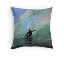 Surf #1 Throw Pillow