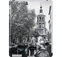 Just The Lane in Black and White iPad Case/Skin