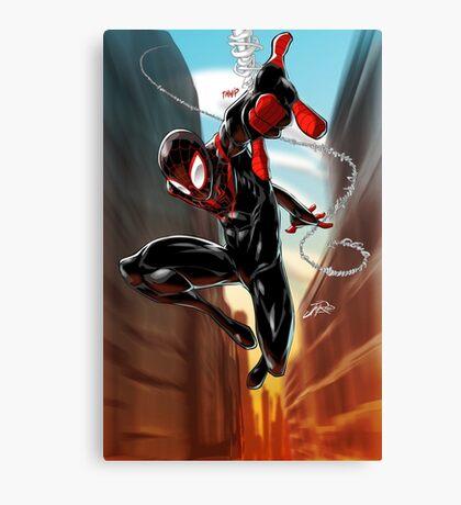 Miles Morales Ultimate Spiderman Canvas Print
