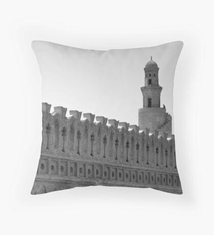 Ibn Tulun Mosque Throw Pillow