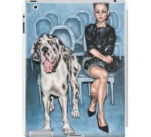 Dame Avec Le Chien iPad Case/Skin