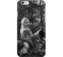A Wolf and His Girl - Protector  iPhone Case/Skin
