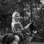 A Wolf and His Girl - Protector  by AndreaBorden