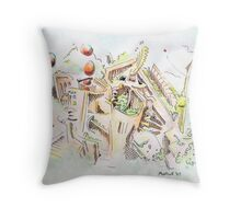 Habitat Throw Pillow