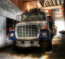 In the Old Bus Station by Delany Dean