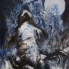 Moon howler by Fran Webster