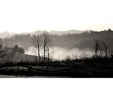 The Little Tennessee River Greenway Photographic Print