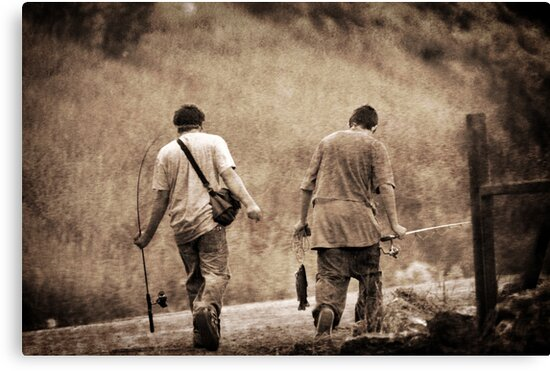 Successful Day Fishing by Ryan Houston