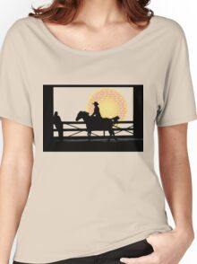 Cowgirl  -  Collaboration Brunet & Brunet Women's Relaxed Fit T-Shirt