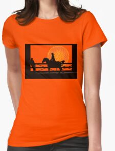 Cowgirl  -  Collaboration Brunet & Brunet Womens Fitted T-Shirt