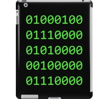 Binary sequence iPad Case/Skin