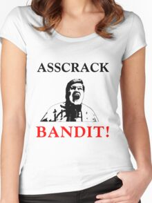 Asscrack Bandit Women's Fitted Scoop T-Shirt
